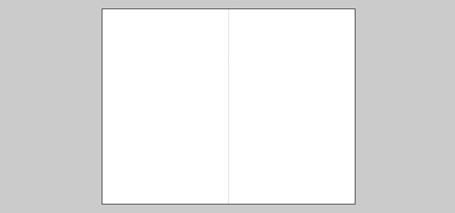 Bifold leaflet blank iStudio Publisher Page Layout Software – Blank Program Template
