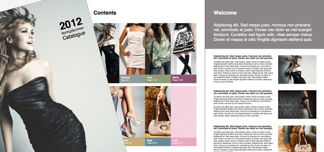 Catalog Clothing Istudio Publisher Page Layout