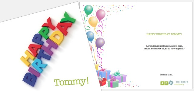 Greetings card childcare birthday istudio publisher for Free greeting card templates for mac