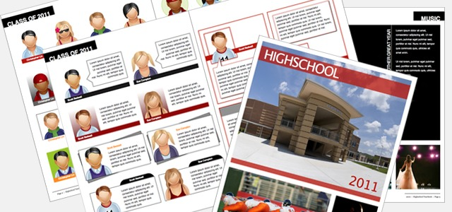 yearbook high school istudio publisher page layout software